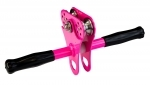 Hornet Zipline Trolley with Handle - Pink (DIY up to 12mm Cable 150kg)